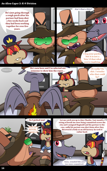 An Alien Caper 2: K-9 Division (Page 16) by Fishlover