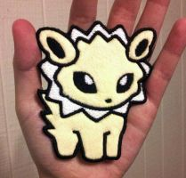 Pokedoll Style Jolteon Patch by TheHarley