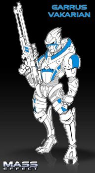 Garrus by DarkTod