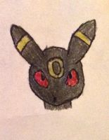 An Umbreon by AlvaFoxy