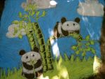 Two Little Pandas by snoopgirl