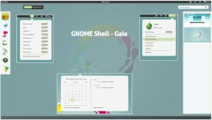 GNOME Shell - Gaia by half-left