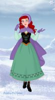 Ariel Visits Arendelle by MissyAlissy
