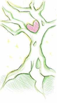 Sketchbook Challenge: Tree by PeaceByPiece95