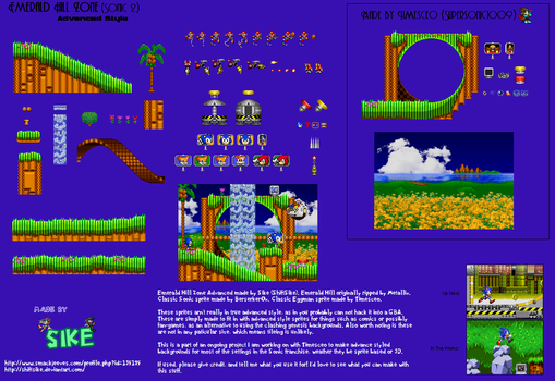 Emerald Hill Advanced (Outdated) by ShiftSike