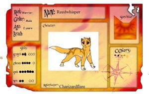 Reedwhisper Application by charizardflare