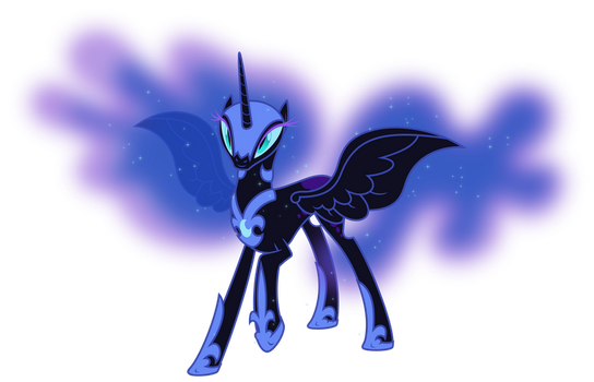 Antagonists - Nightmare Moon on MLP-VectorClub - DeviantArt