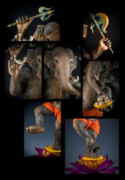 Ganesha: Details by rgyoung