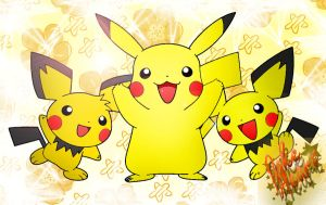 Pikachu and friends by PokeHeart