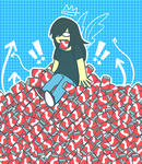 coughing up coke cans by EpicGuac