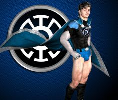 Concept Character Blue Lantern by Biako06