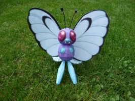butterfree papercraft by dodoman75
