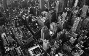 Looking down on NYC5 Wallpaper by lowjacker