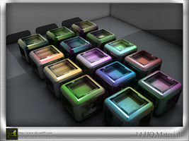Glow In The Dark Flyer by styleWish on DeviantArt #2: c4d material set 15 by jdluxe