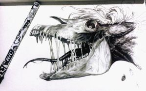 Smile - Ballpoint pen by BH-Stables