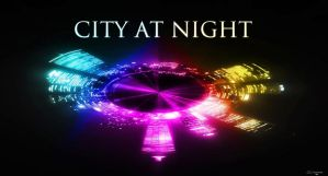City at night 1 by amit55