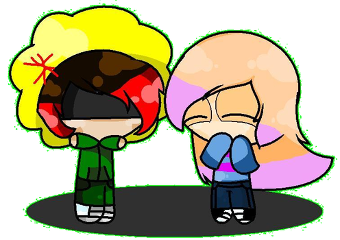 ~ Micheal and Taffy ~ IM NOT CUTE!!! by TAFFY30833