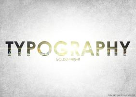 Typography 3. by TJay-Design