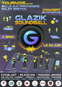 Tournament Poster - Glazik SoundBall 5 by kartine29