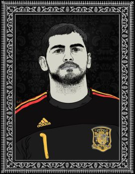 Iker Casillas by sologfx