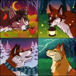 $5 Seasonal Icons - Canines by FlannMoriath