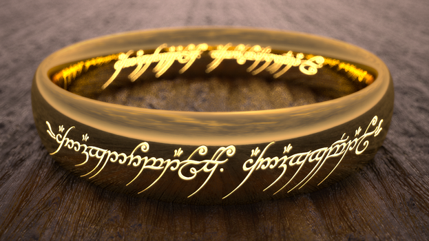 The One Ring redo by Badriel