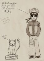 naruto and cat for jedg by atsumimag