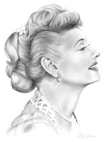 Lucille Ball by gregchapin