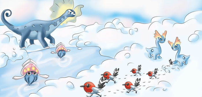 Pokemon Winter: Contest by snoopgirl