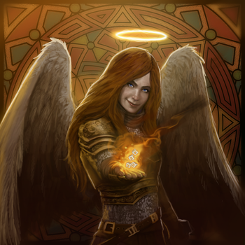 DC: Angel of Luck V2 by GraphicGeek