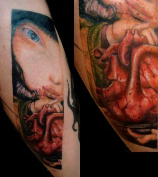 David Ho tattoo by tainted-orchid