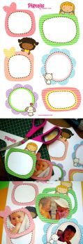Pigtails Picture Frames by jazgirl