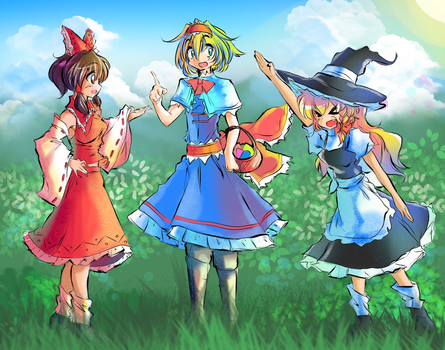 Alice and Friends(TM) by MajorMilk