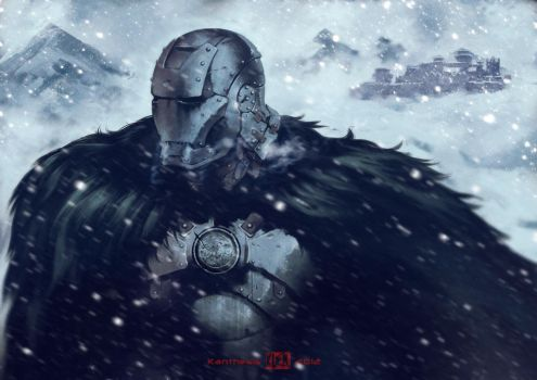 Iron Thrones - Lord Stark by Kanthesis