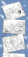 SonAmy-Time Travel pg.26 THE END by Klaudy-na