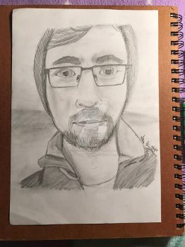 Jacksepticeye portrait by JustKeepSwimminNemo