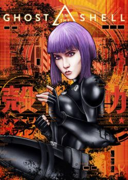 Ghost in the Shell. by Jonathon471