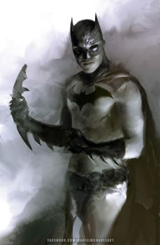 Batman by danielmchavez