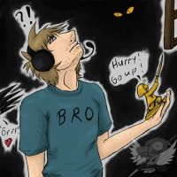 To the moon: PewDiePie by hyoukyo on DeviantArt  To the moon: Pe...
