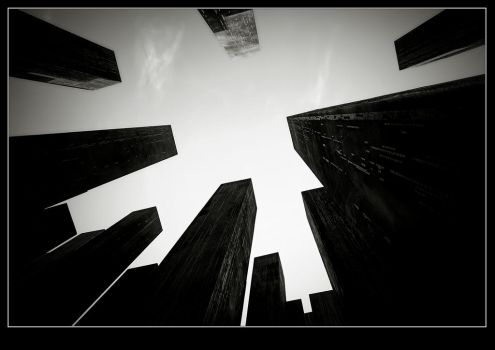 Lost in Big City by piro23