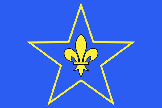 Flag of francilian independantism in France by Jaglion