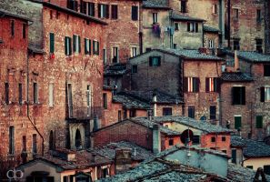 Tuscanian Town by Dapicture