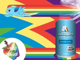 Dash Energy Drink Wallpaper by BronyNero