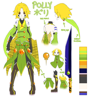 character ref - polly by fuumika
