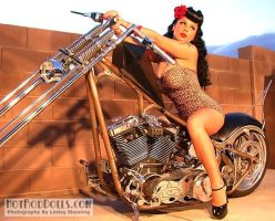 Pinup Dream Machine 2 by ButterflyLady