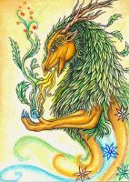 ACEO - Born From The Elements by Zephiriara