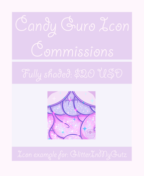Candy Gore Icon Commissons: Open by SophieSuffocate