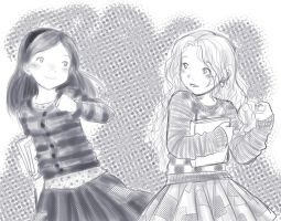 HP - Ginny y Luna by rally-ae