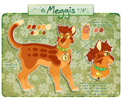 Meggis reference sheet 2017 by MeggisCat