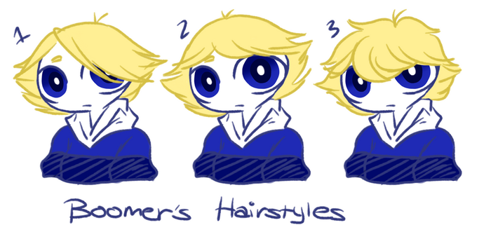 boomer's hairstyles by Rinserphia
